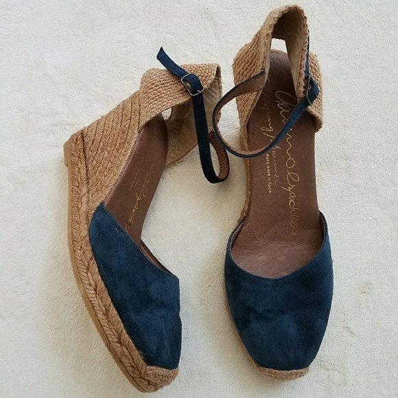 9ed72064bf86 Gaimo Shoes - Gaimo Espadrilles Made In Spain Blue Beige